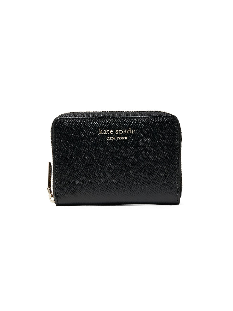 Kate Spade WOMEN'S SPENCER ZIP LEATHER CARD CASE