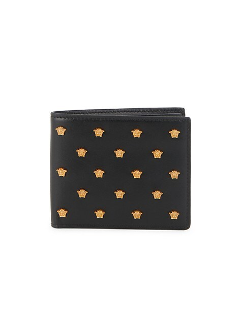 Medusa Head Leather Wallet