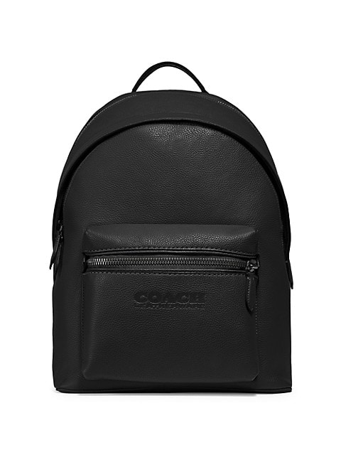 Charter Refined Pebbled Leather Backpack