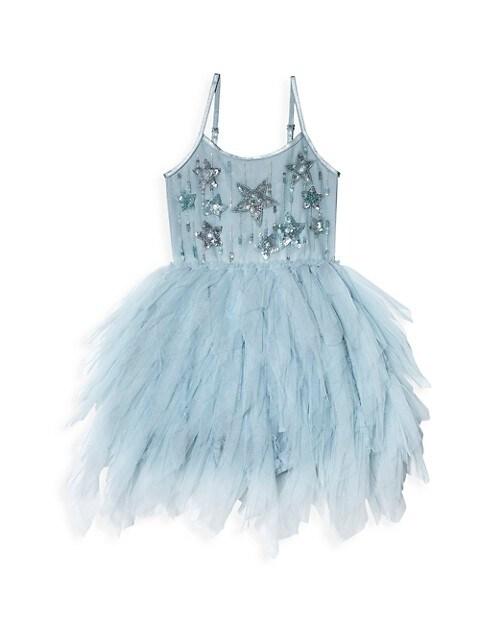 Baby Girl's Catalina Sequin Star Tulle Tutu Dress