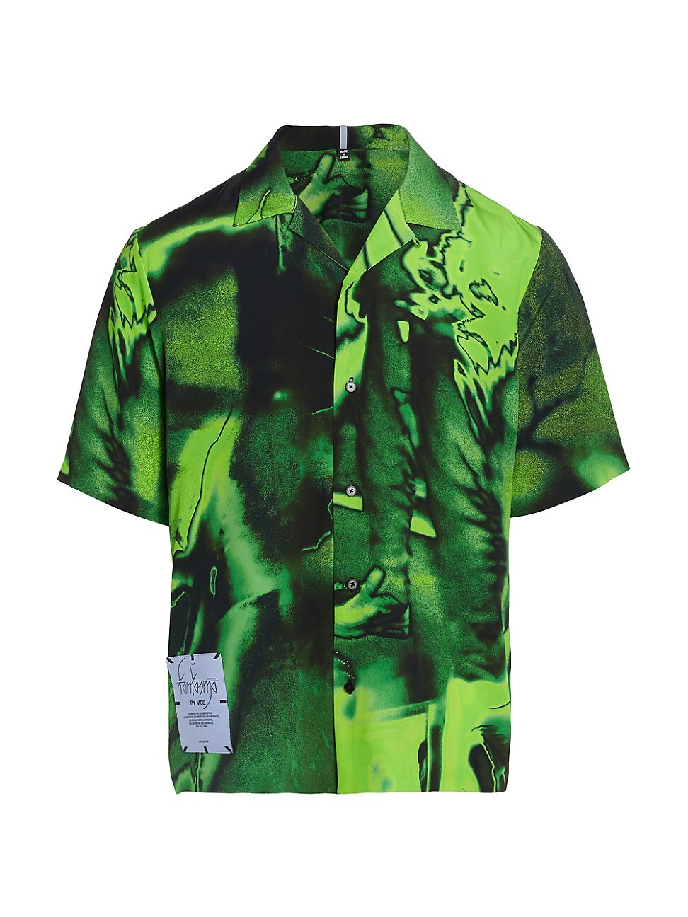 Mcq By Alexander Mcqueen MEN'S SILK RAVE SHIRT