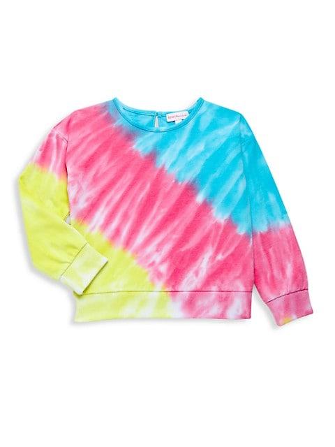 Little Girl's & Girl's Tie-Dye Sweatshirt