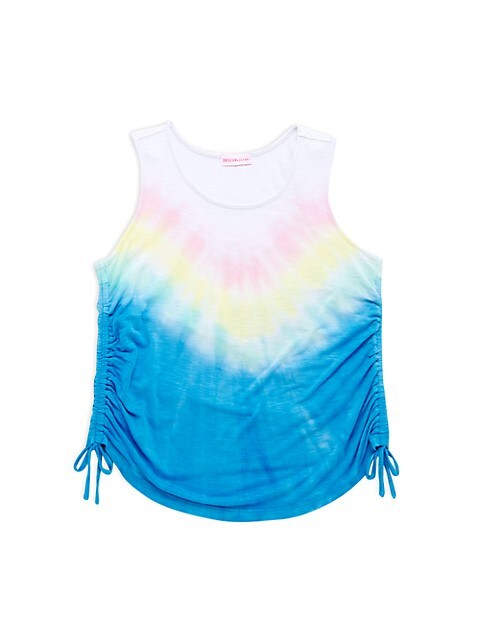 Girl's Tie-Dye Drawstring Tank Top