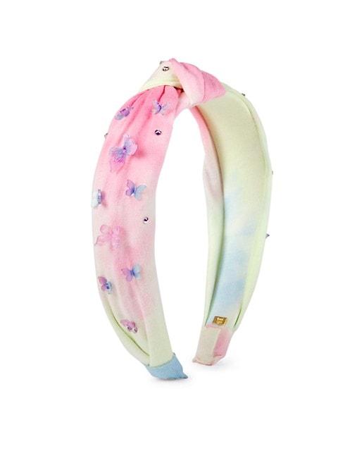 Floral Knot Iridescent Headband