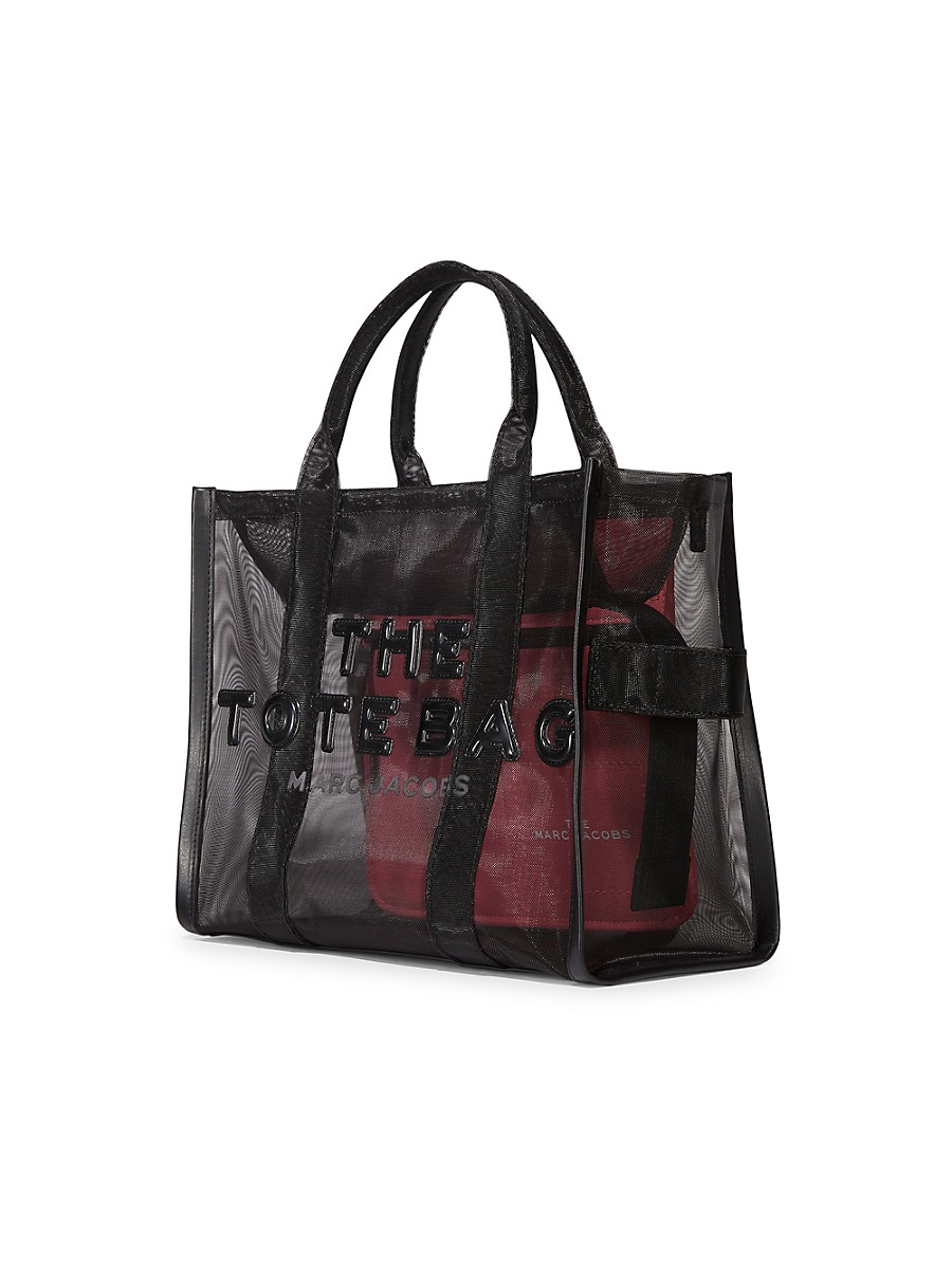 THE MARC JACOBS Totes WOMEN'S SMALL TRAVELER MESH TOTE