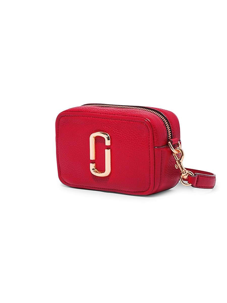 THE MARC JACOBS Leathers WOMEN'S THE SOFTSHOT LEATHER CAMERA BAG
