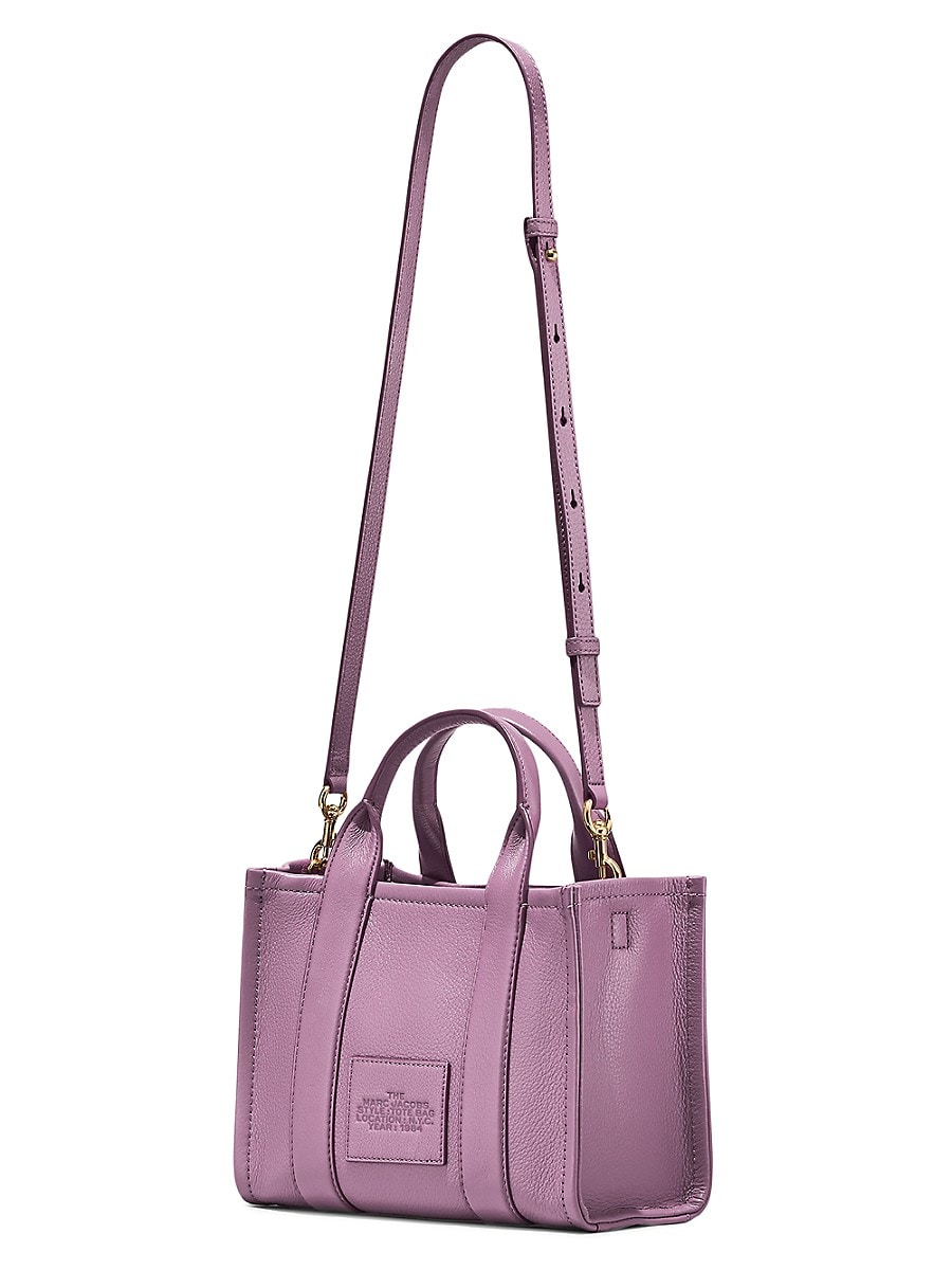 THE MARC JACOBS Leathers WOMEN'S MINI TRAVELER LEATHER TOTE