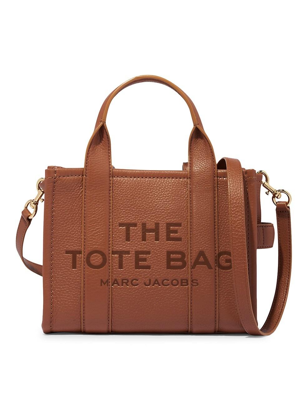 마크 제이콥스 토트백 Marc Jacobs Mini Traveler Leather Tote,ARGAN OIL