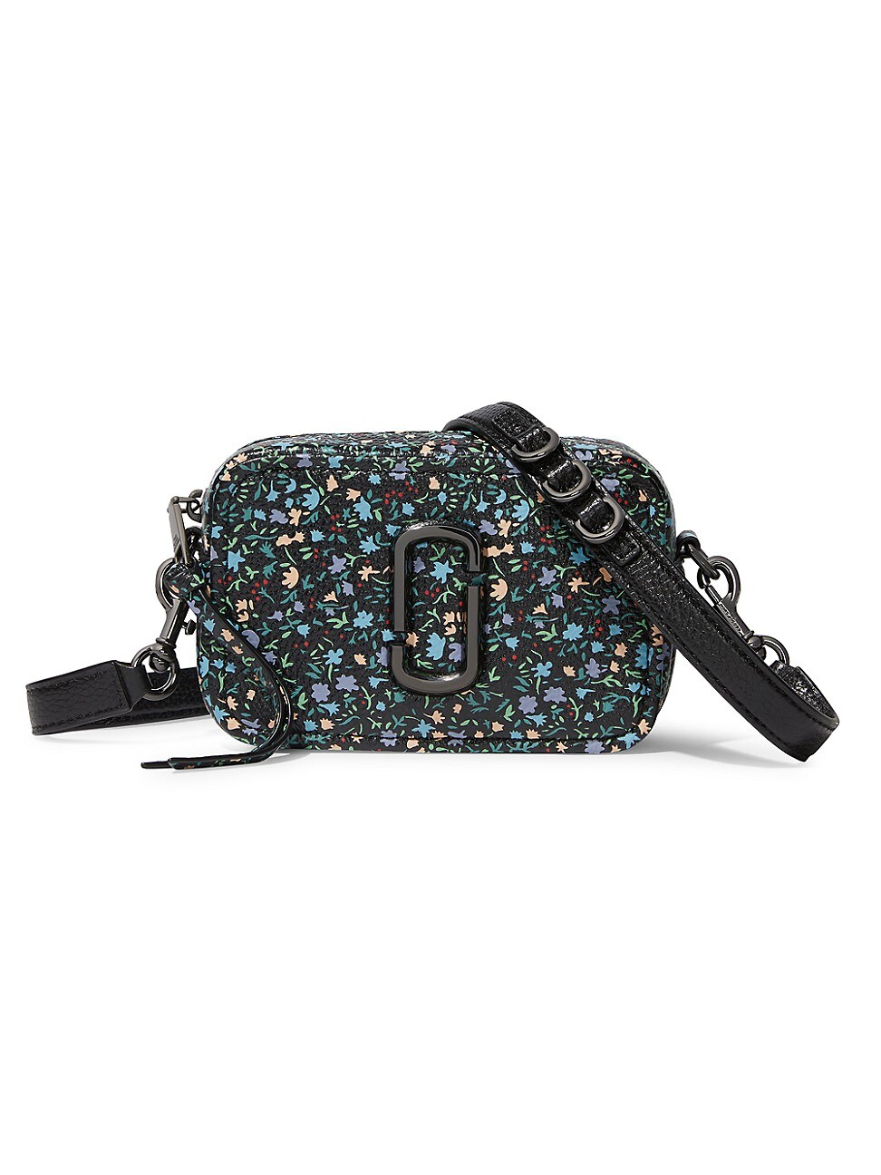 The Marc Jacobs WOMEN'S THE SOFTSHOT FLORAL LEATHER CAMERA BAG