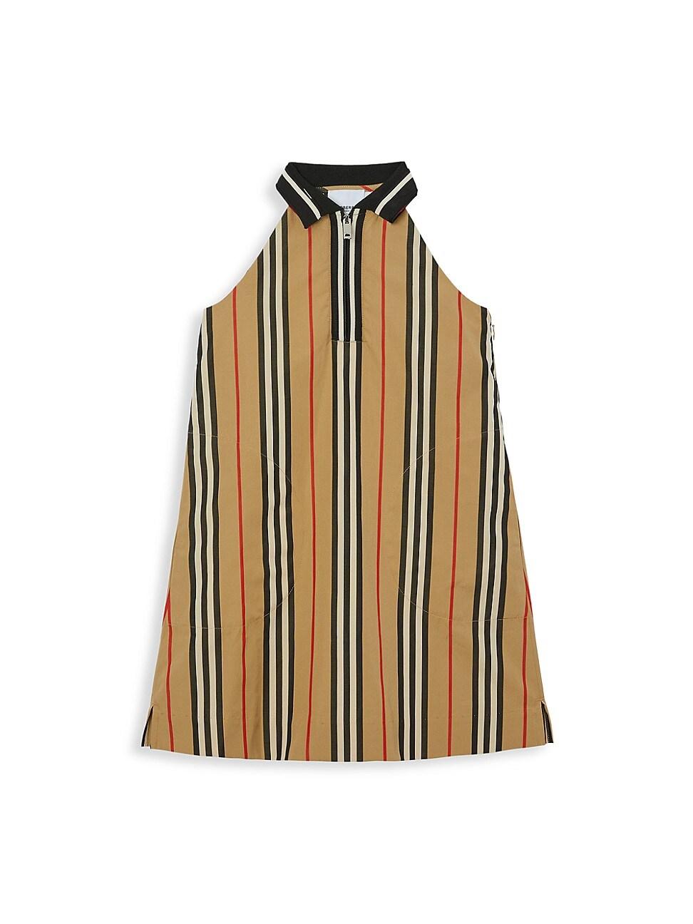 Burberry LITTLE GIRL'S & GIRL'S KAREN POLO ZIP DRESS