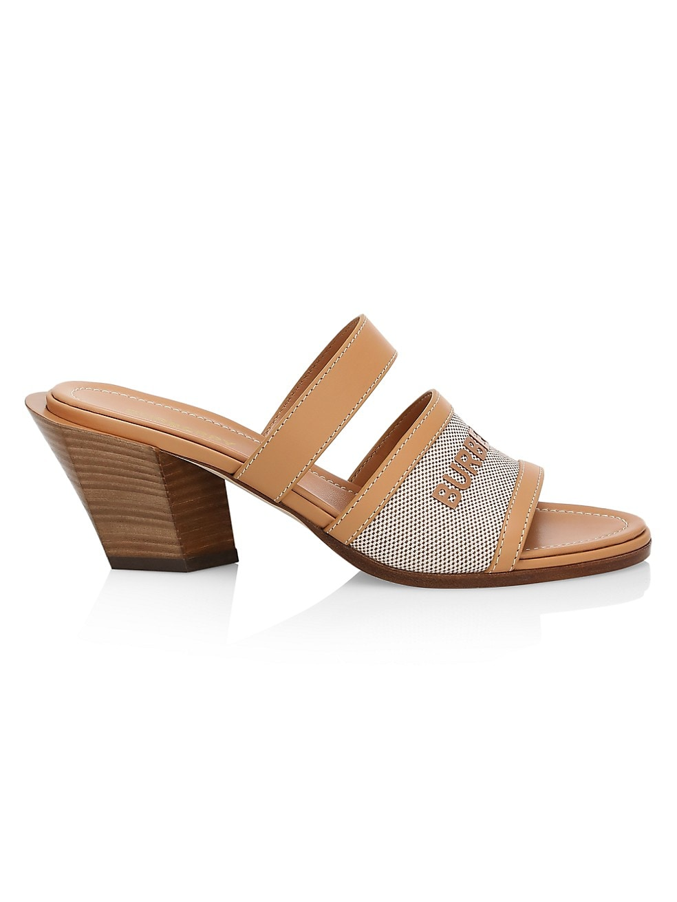 Burberry Honour Leather Sandals