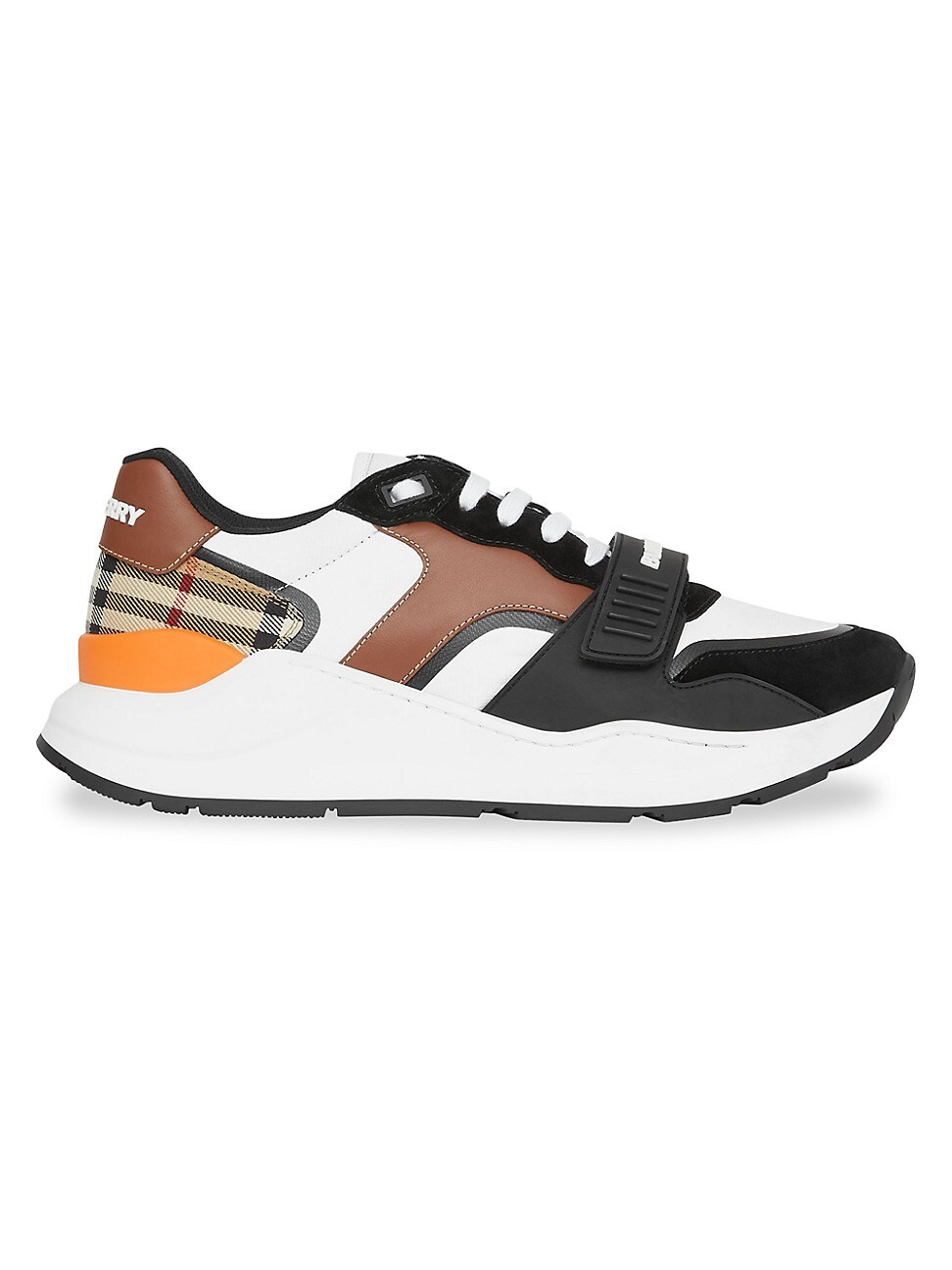 Burberry Leathers WOMEN'S RAMSEY LOW-TOP SNEAKERS