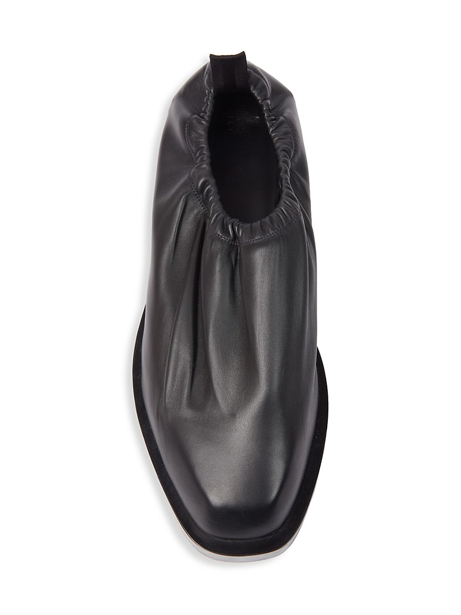 GIVENCHY Leathers MEN'S SHOW LEATHER SLIP-ON SHOES