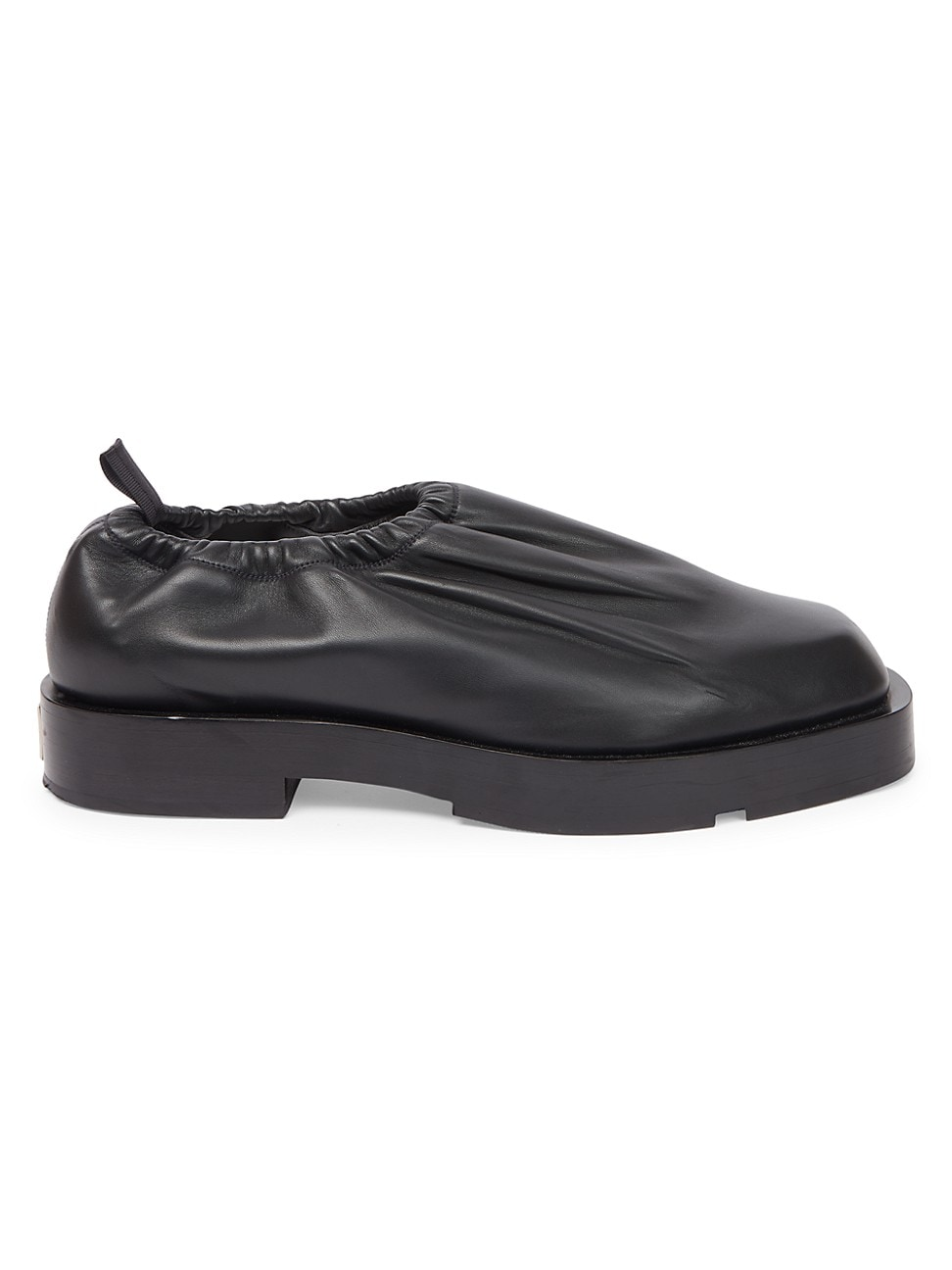 Givenchy MEN'S SHOW LEATHER SLIP-ON SHOES