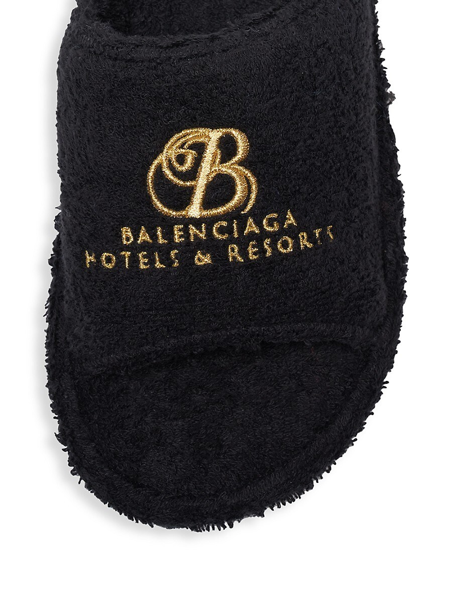 BALENCIAGA Slippers WOMEN'S HOME TERRY SLIPPERS