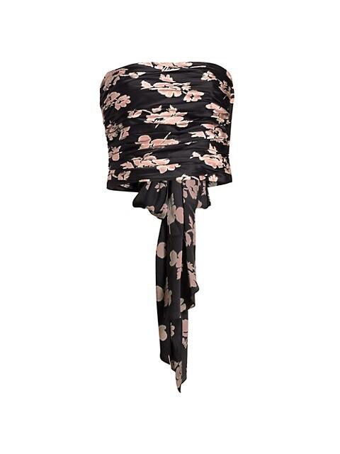 Winola Floral Silk Top