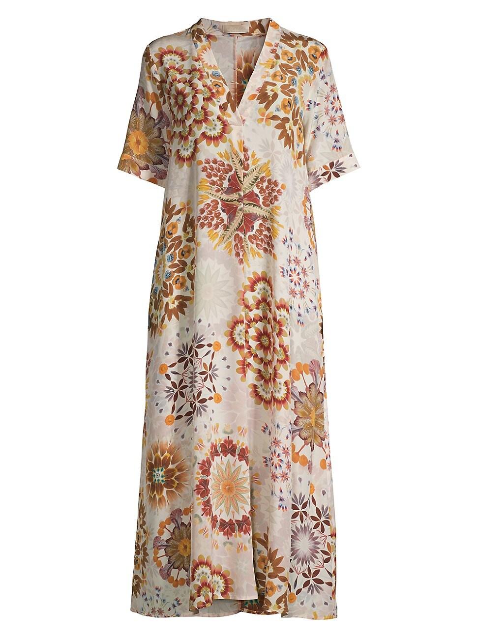 Momoní WOMEN'S ALTAMURA MAXI TUNIC DRESS