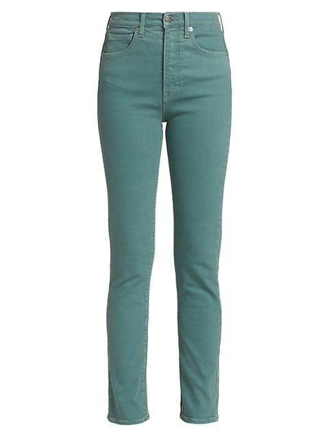 Ryleigh High-Rise Straight Jeans