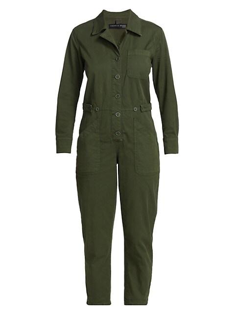 Wren Boiler Crop Jumpsuit