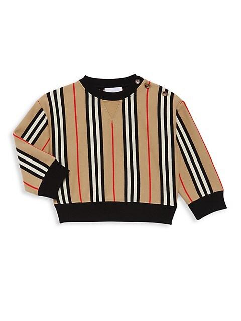 Kid's Icon Stripe Sweatshirt