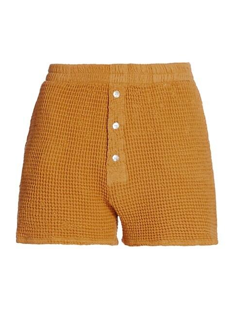Waffle Knit Shorts
