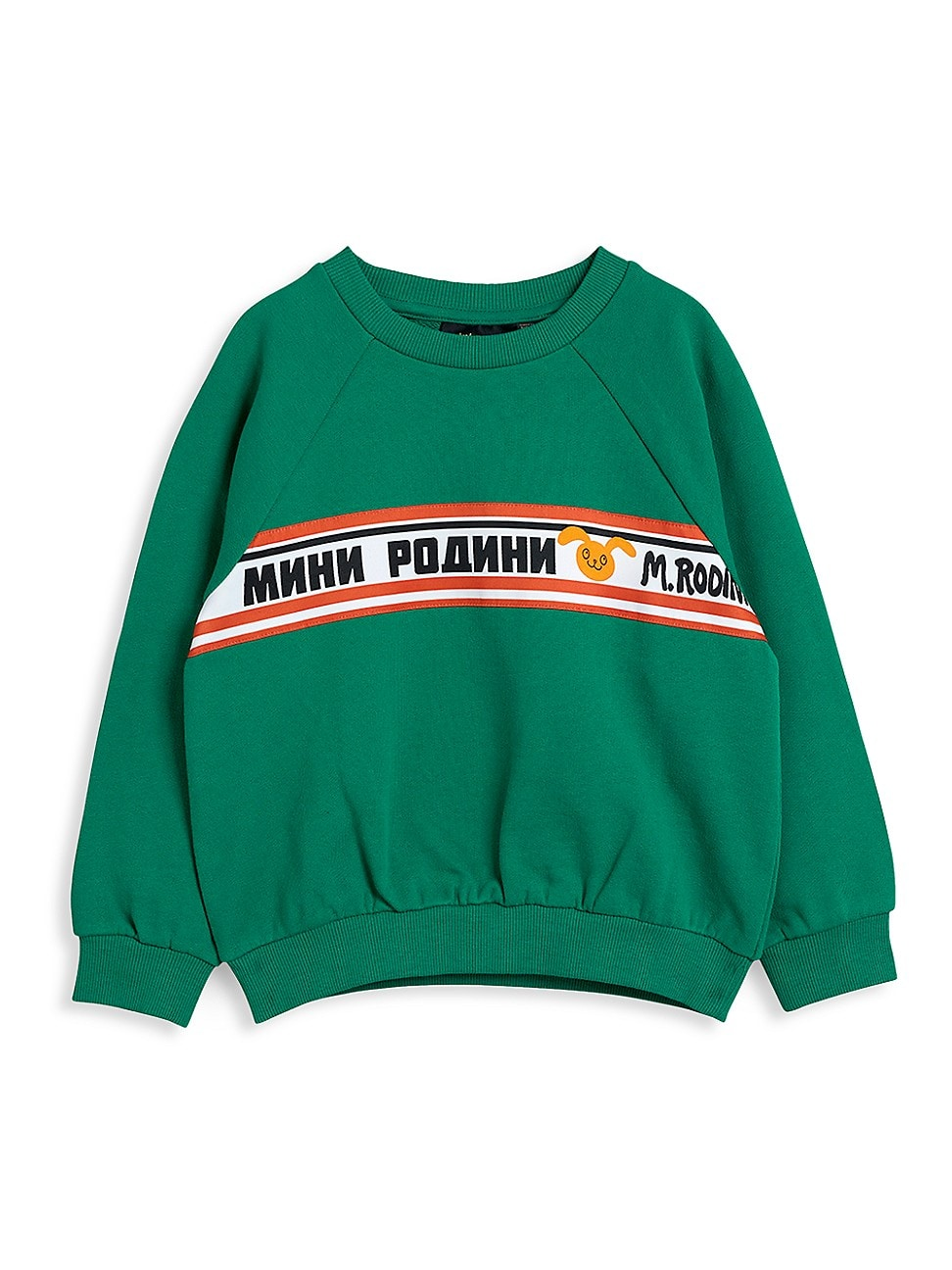 Mini Rodini Cottons LITTLE GIRL'S AND GIRL'S MOSCOW SWEATSHIRT