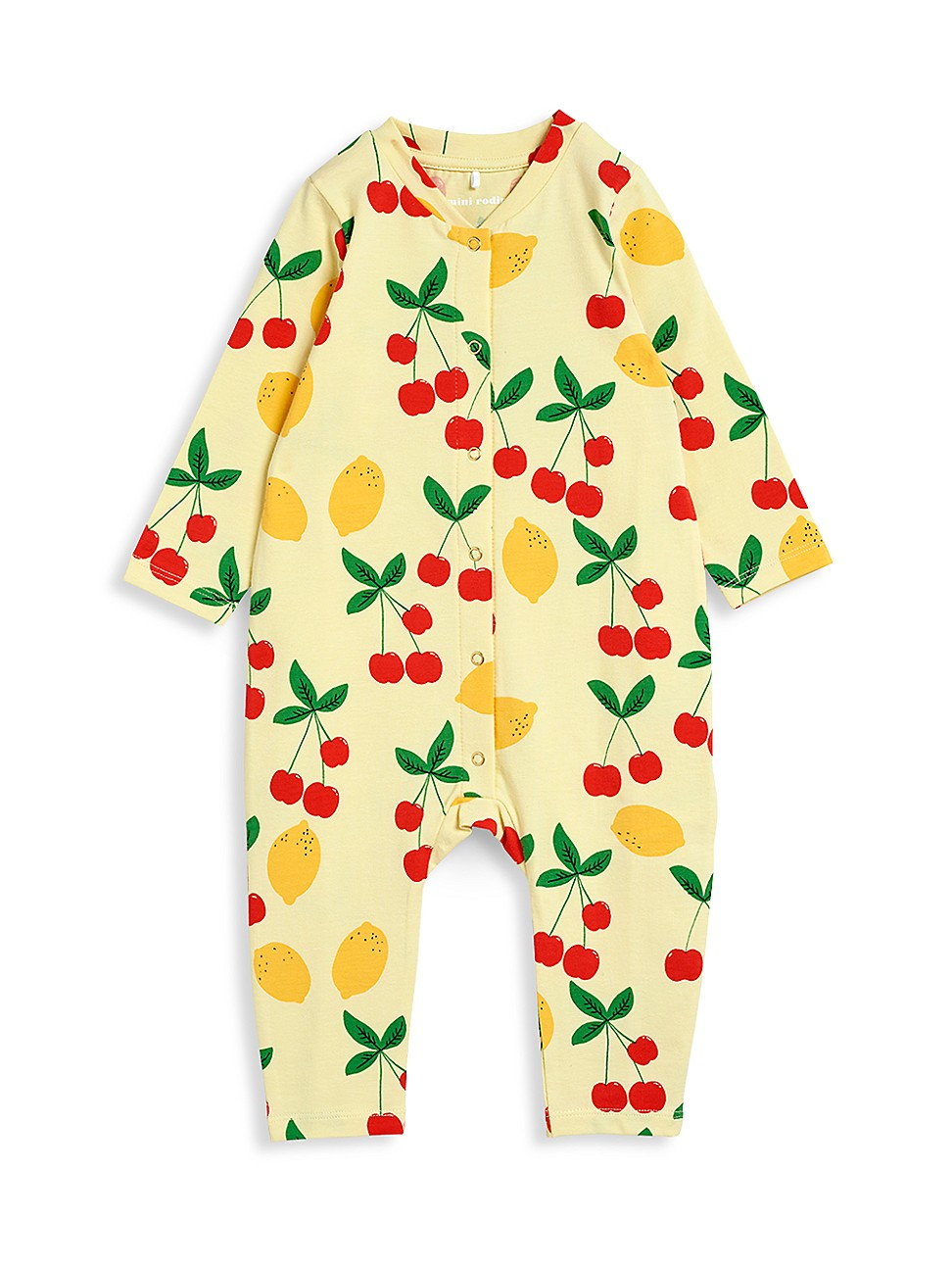 Mini Rodini Bodysuits BABY'S CHERRY LEMONADE JUMPSUIT