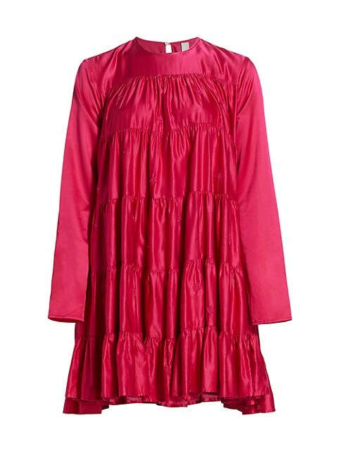 Soliman Embroidered Tunic Dress