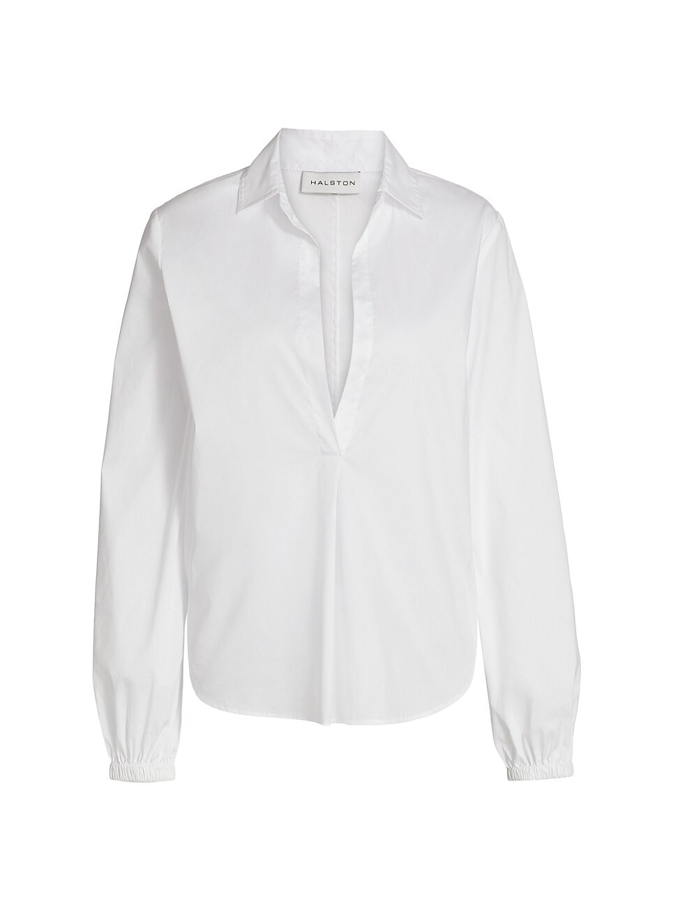 Halston WOMEN'S MINA COTTON POPLIN SHIRT