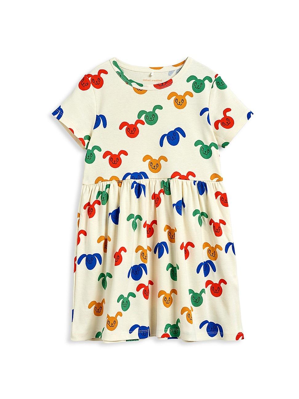 Mini Rodini LITTLE GIRL'S AND GIRL'S RABBIT DRESS