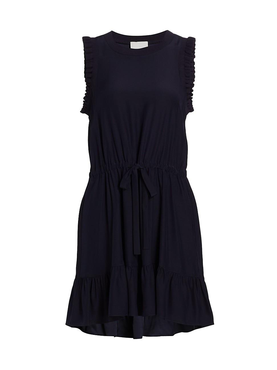 Cinq À Sept WOMEN'S LENORA HIGH-LOW SILK DRESS