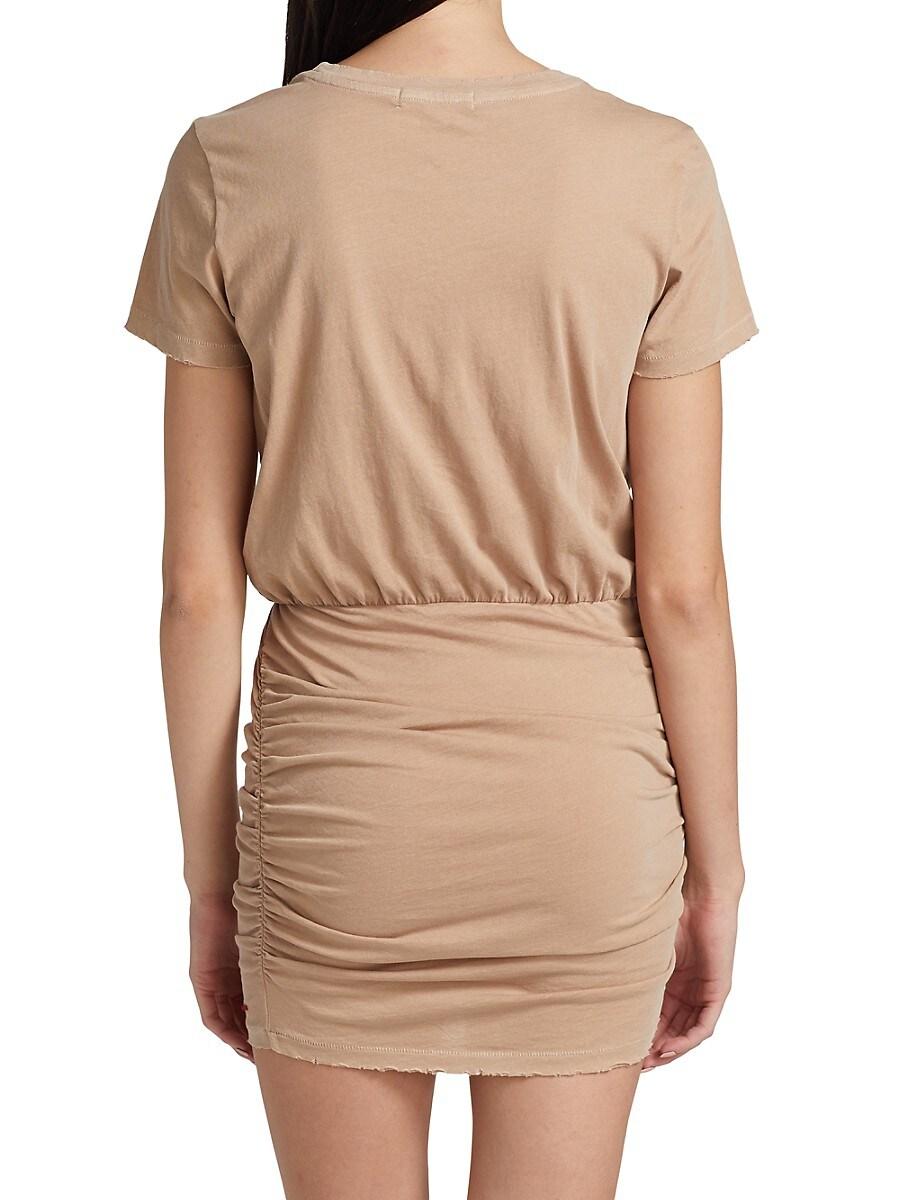N:PHILANTHROPY Mini dresses WOMEN'S BANGKOK RUCHED MINI T-SHIRT DRESS