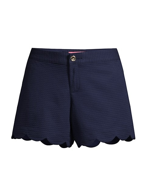 Buttercup Scallop Shorts