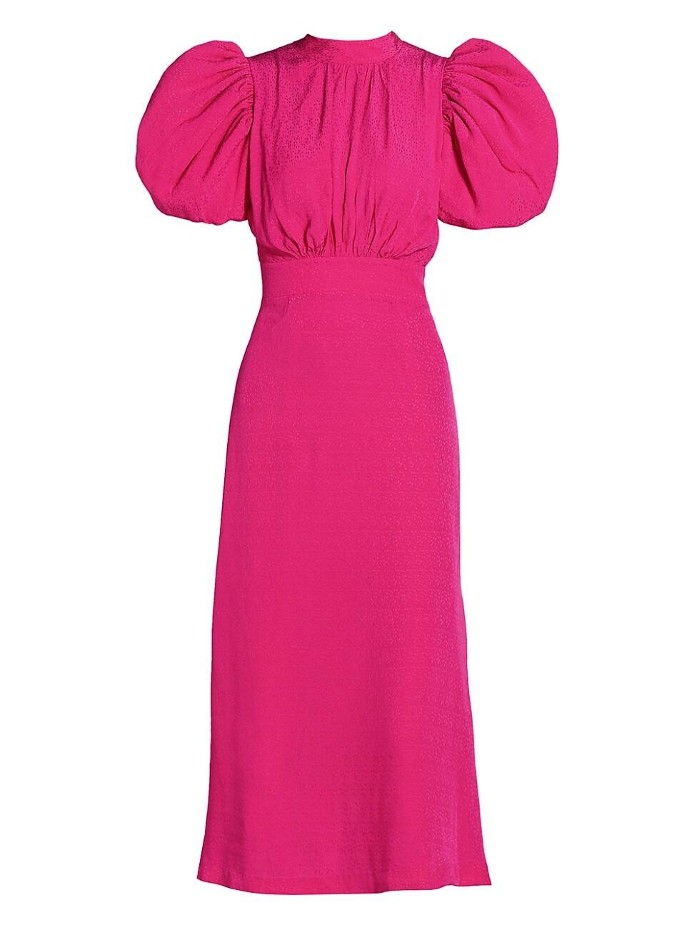 Rotate Birger Christensen WOMEN'S DAWN PUFF-SLEEVE DRESS