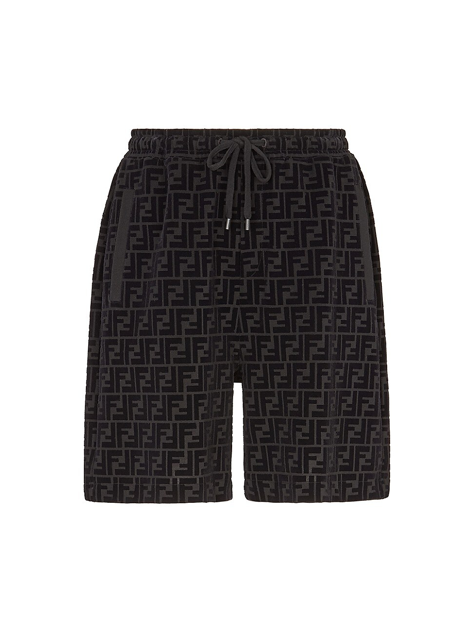 Fendi MEN'S FF LOGO BERMUDA SHORTS