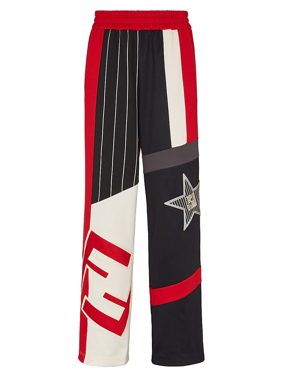 Fendi MEN'S FF ACTIVE STAR TRACK PANTS