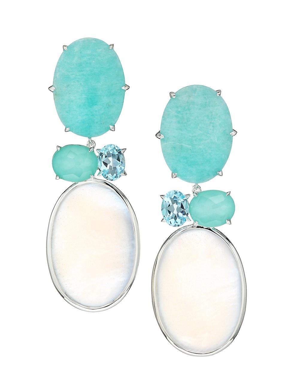 Ippolita Earrings WOMEN'S 925 ROCK CANDY® LUCE CASCATA 4-STONE DROP EARRINGS
