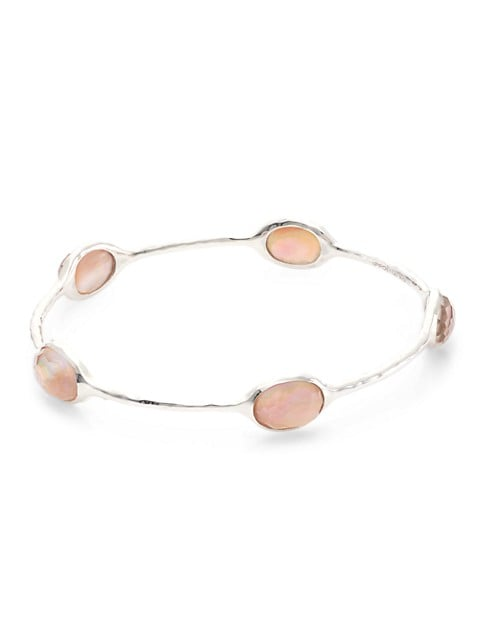 925 Rock Candy® In Brown Shell Doublet Bangle