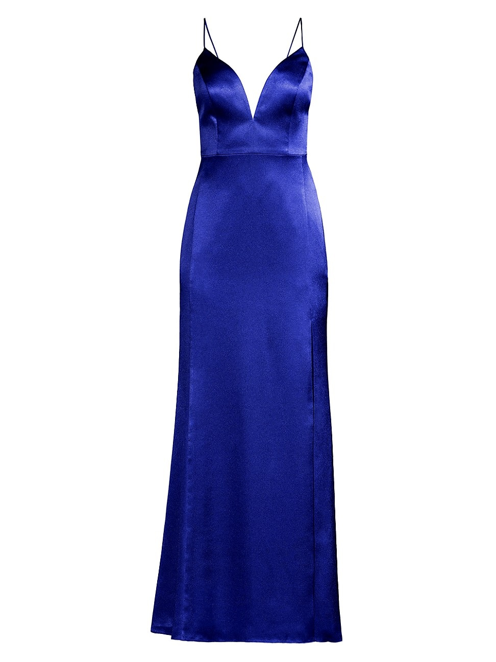 Aidan Mattox WOMEN'S LIQUID SATIN MERMAID DRESS