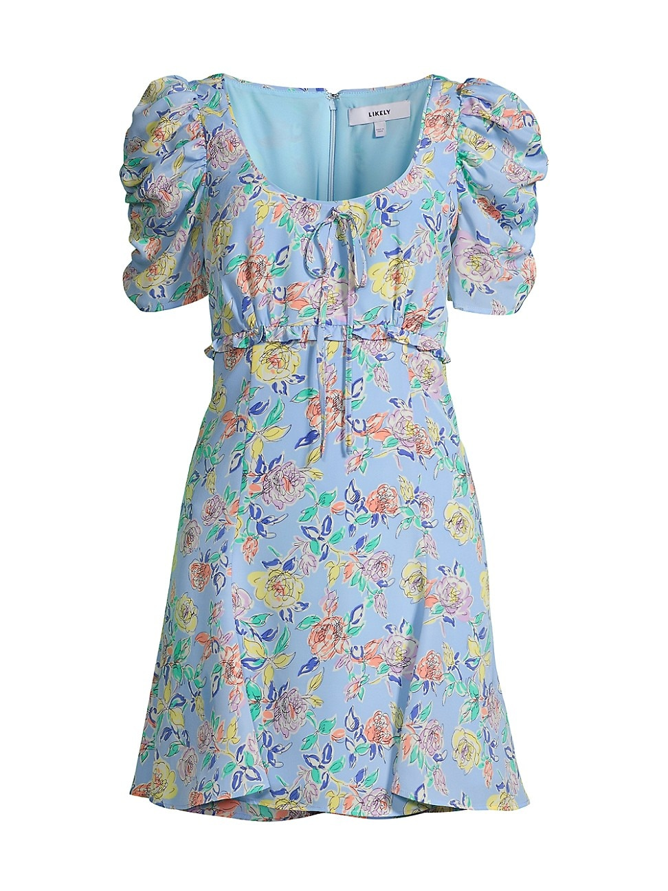 Likely Dresses WOMEN'S LANA FLORAL MINI A-LINE DRESS