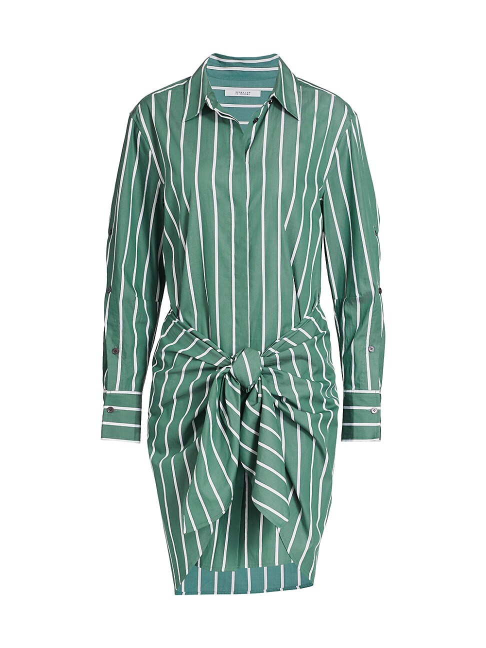 Derek Lam 10 Crosby WOMEN'S CHARLOTTE TIE-WAIST STRIPE SHIRTDRESS