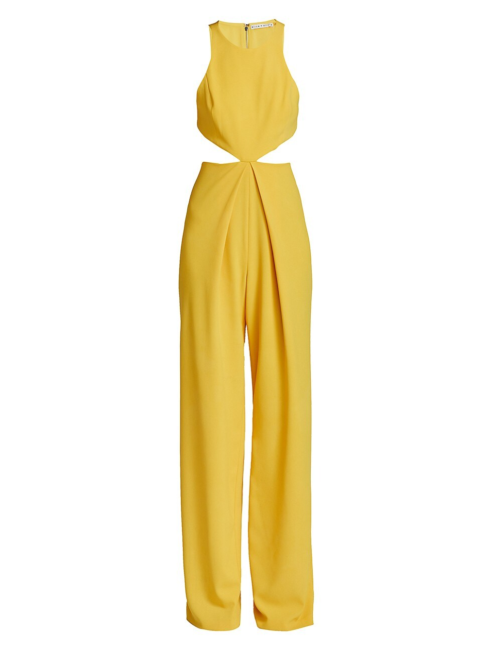 Alice And Olivia WOMEN'S CARA CUTOUT JUMPSUIT