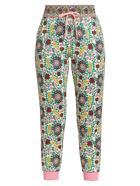 NYC Slim-Fit Floral Joggers