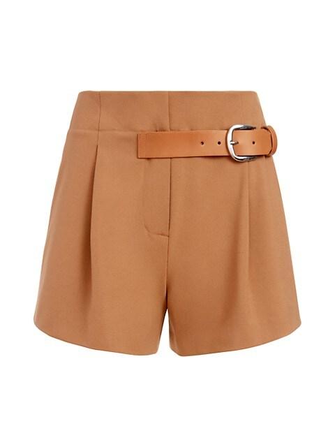 Adelina Tag Belt Shorts