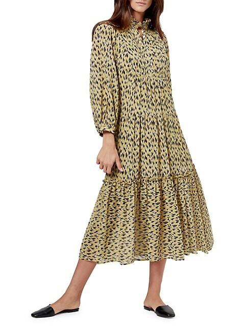 Pismo Floral Midi Dress