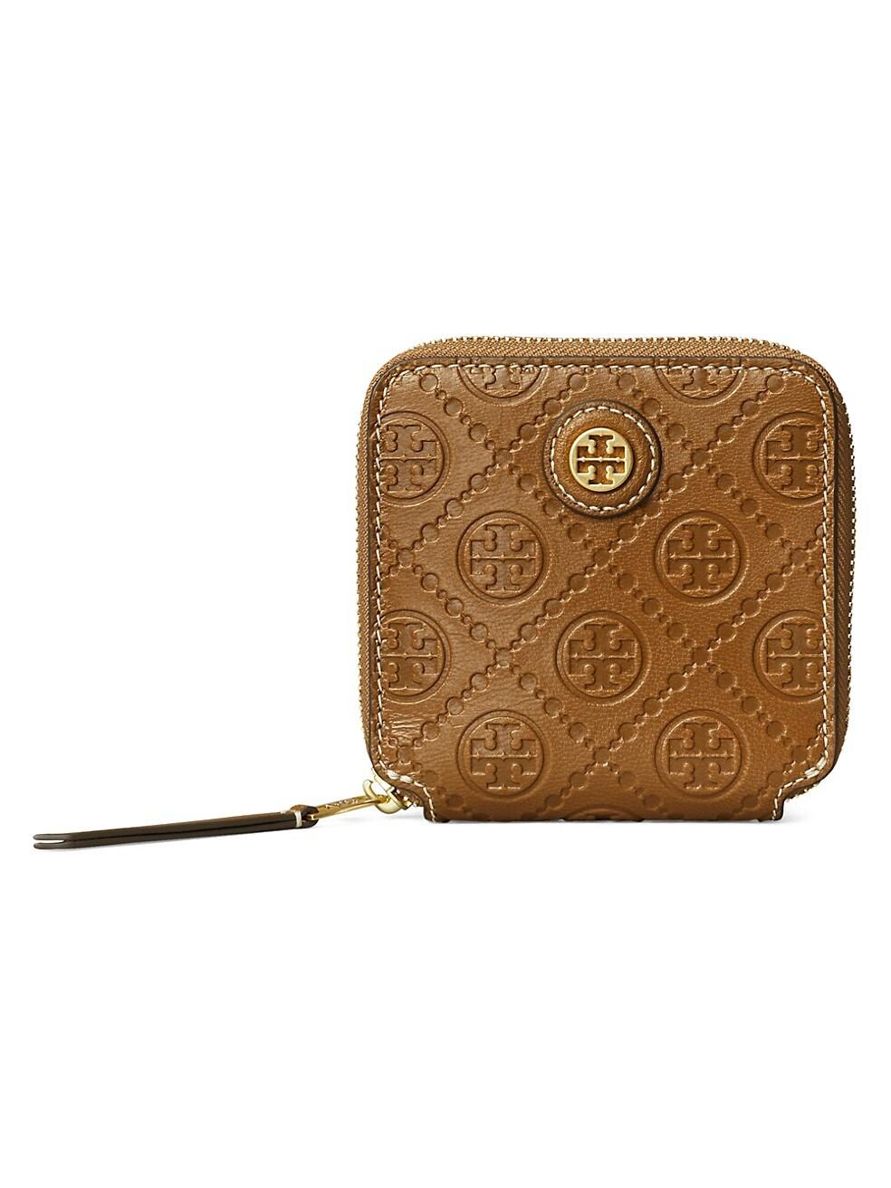 토리버치 지갑 Tory Burch Leather Bi-Fold Wallet,MOOSE