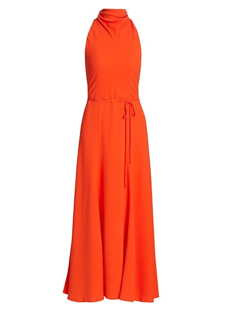 Emory Sleeveless Halterneck Dress