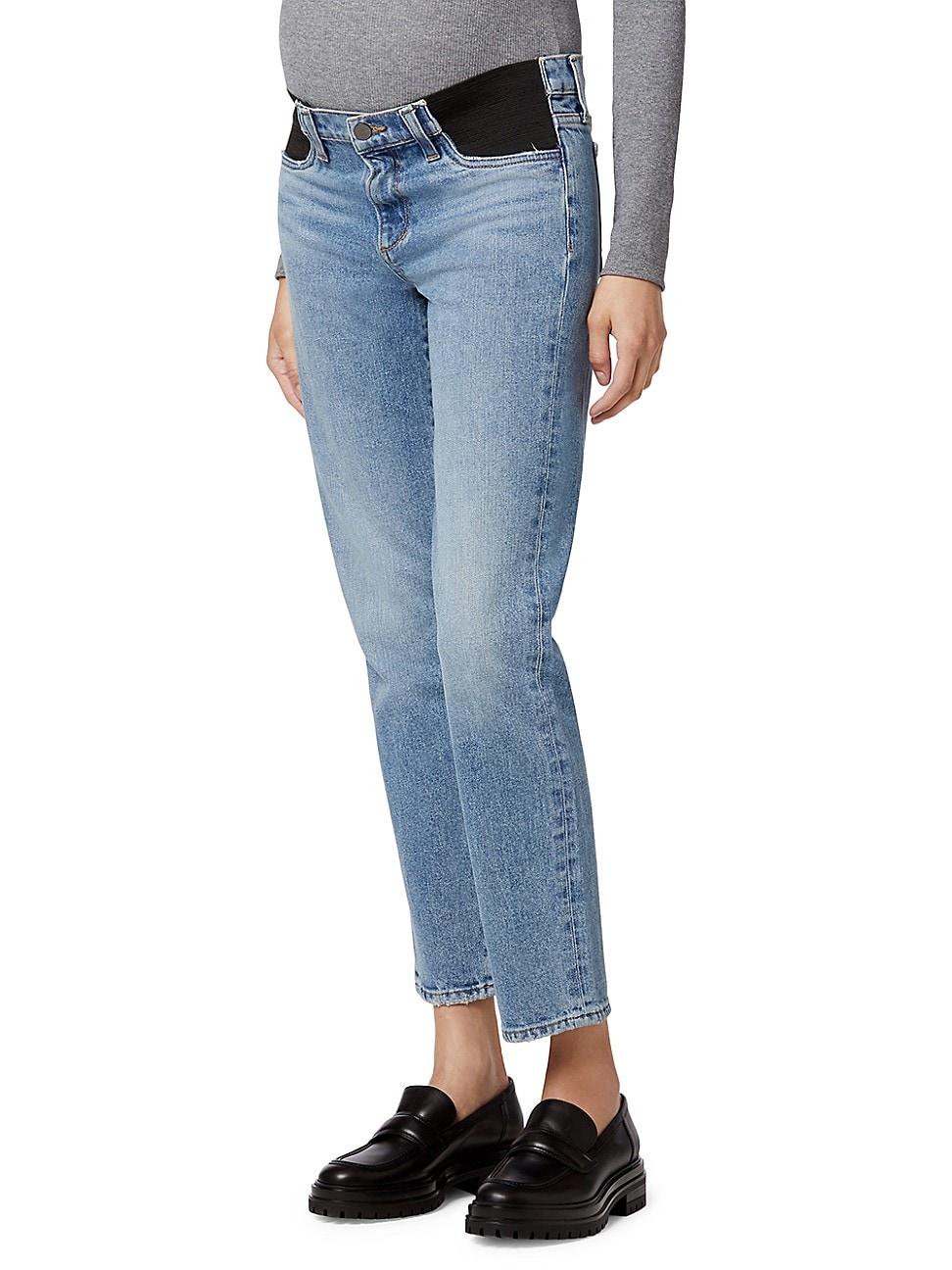 Joe's Jeans WOMEN'S THE LARA ANKLE MATERNITY JEANS