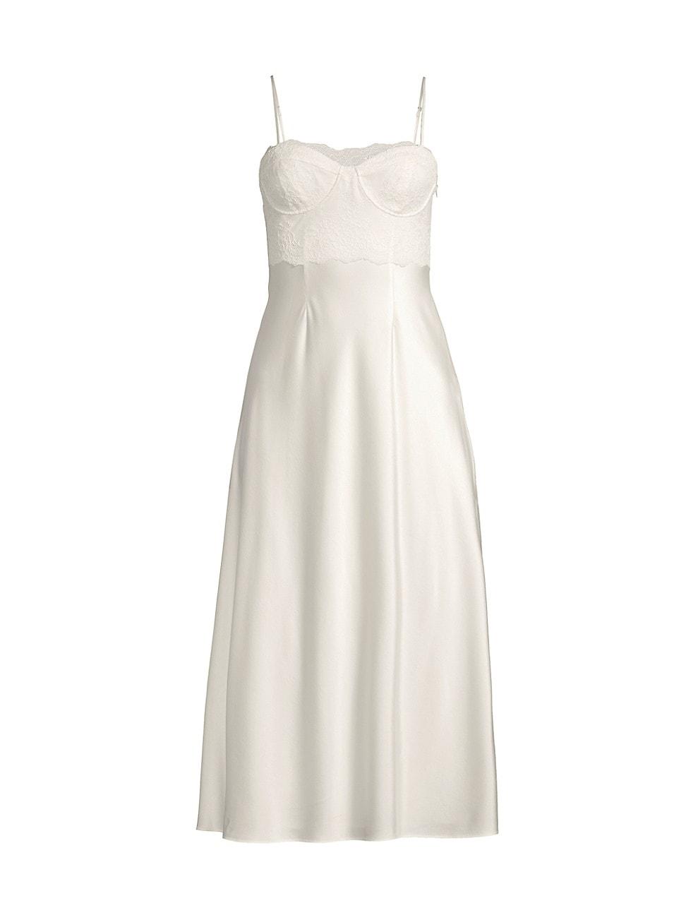 Cami Nyc WOMEN'S BALEY LACE & SILK DRESS