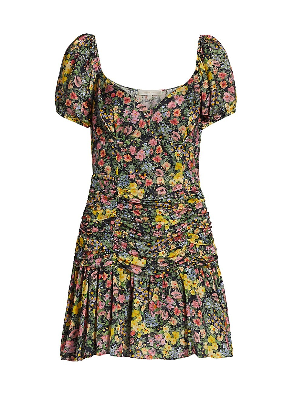 Loveshackfancy WOMEN'S AMBRETTE DITSY FLORAL MINI DRESS